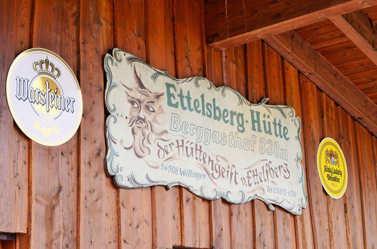 Siggi's Hütte - Schild