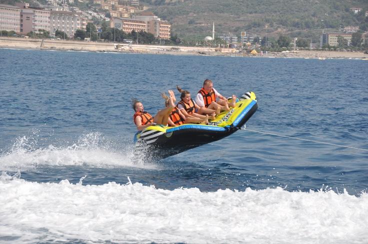 Having fun on the water in Alanya!