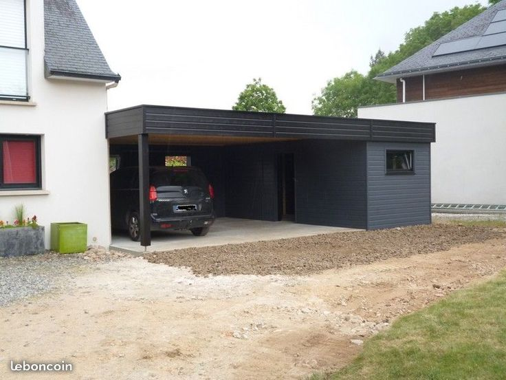 Abri de jardin préau carport garage annexe