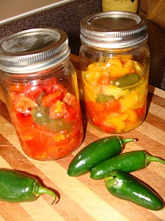 Just Cooking: Jalapeno Canned Diced Tomatoes Recipe.
