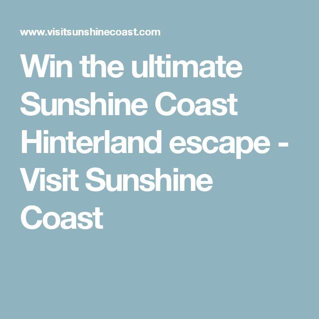 Win the ultimate Sunshine Coast Hinterland escape - Visit Sunshine Coast