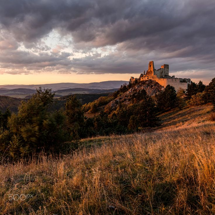 "Sunset at Bathory Castle - Follow me on <a href=""https://www.facebook.com/lubosbalazovic.sk"">FACEBOOK</a> or <a href=""https://www.instagram.com/balazovic.lubos"">INSTAGRAM</a>"