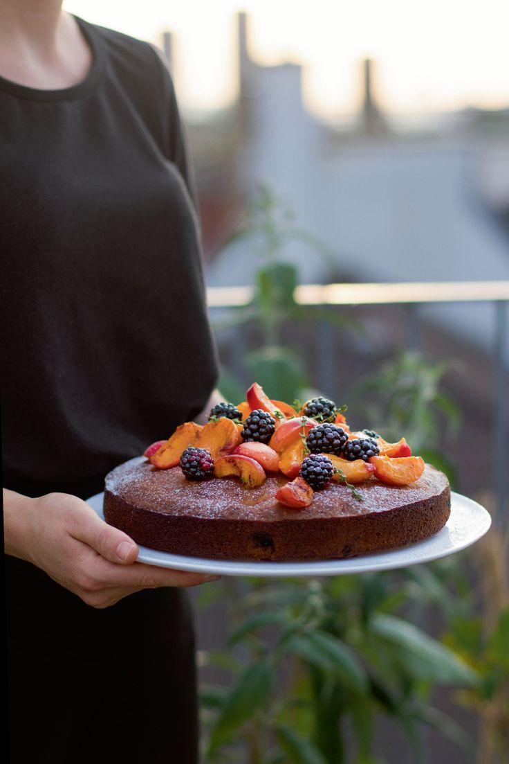 Sieben raffinierte Rezepte fürs Grillfest: Brombeerkuchen