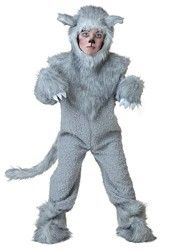 Big Boys Wolf Costume  Large