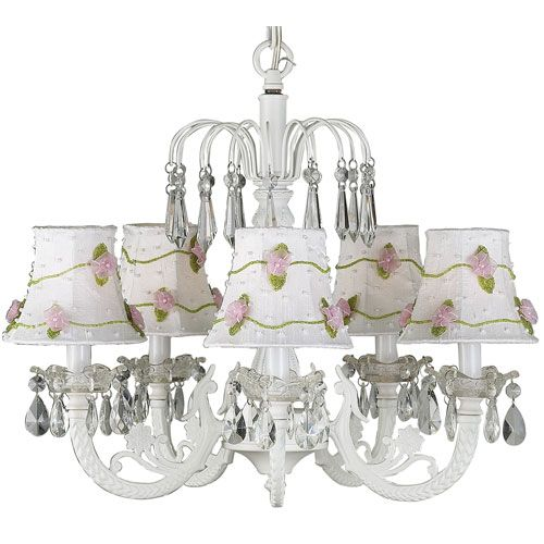 38 best images about chandeliers for girls room on for Chandelier light for girls room