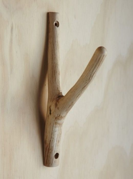 wooden hook (DIY?)