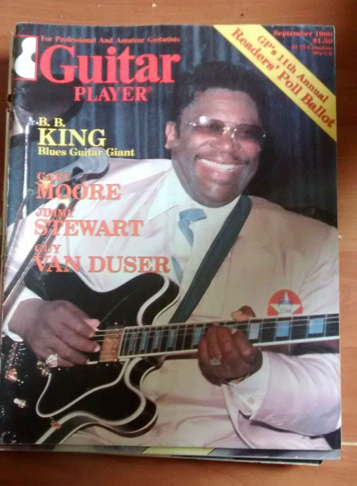 Guitar Player Mag good condition BB KING September 1980