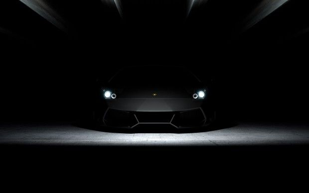 Lamborghini Dark Wallpapers Hd Black Car Wallpaper Sports Car