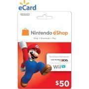 Nintendo eShop $50 (Email Delivery)