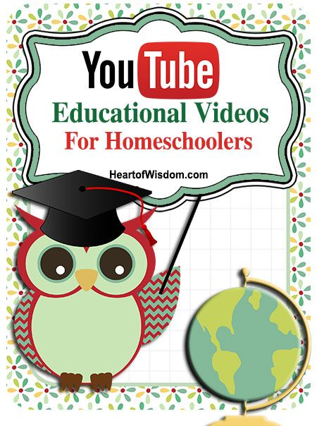 YouTube Education Videos for Homeschool snipet reviews on several educational online videos