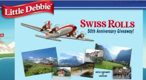 Little Debbie Swiss Rolls 50th Anniversary Giveaway Sweepstakes – Win a trip to Switzerland! - ends 5/31/14