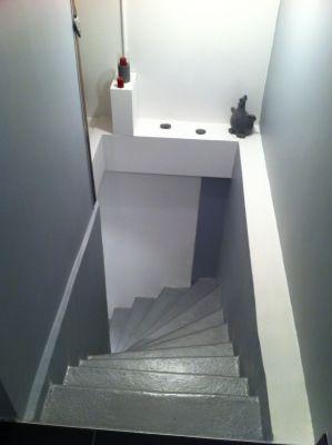 les 25 meilleures id es de la cat gorie cage escalier sur. Black Bedroom Furniture Sets. Home Design Ideas