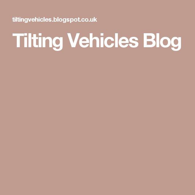 Tilting Vehicles Blog