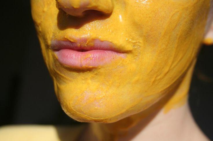 Masque visage curcuma