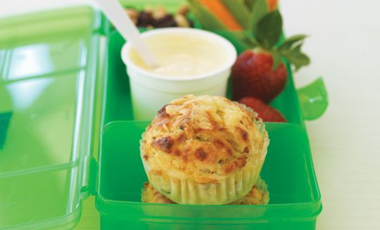 These Bacon, Cheese & Courgette Muffins are a great lunch idea.