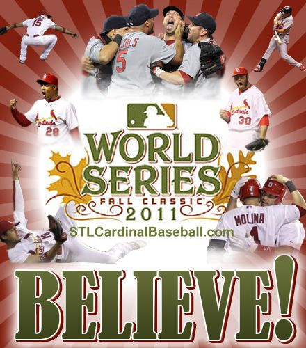 The St. Louis Cardinals are World Series Bound!!