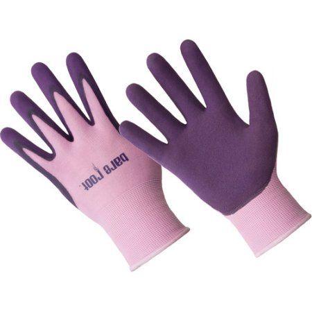 Hands ON Ladies Premium Nitrile Coated Glove, Beige