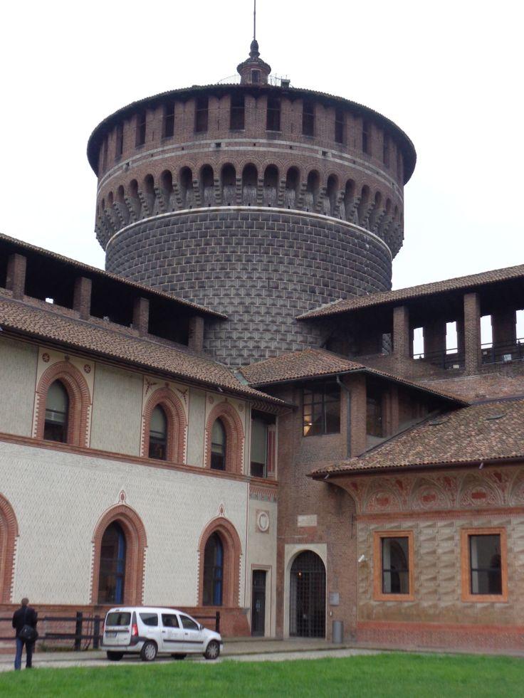 Watch tower of Sforza Castle