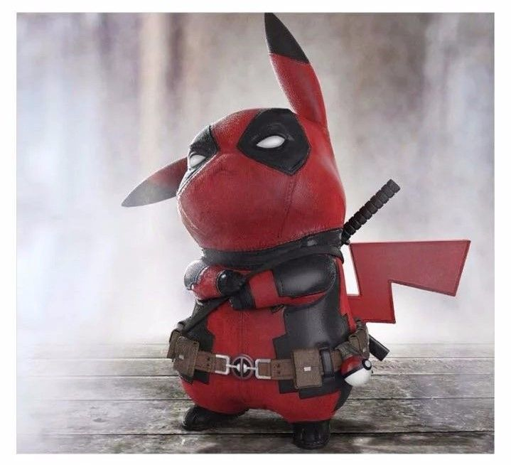 Funny Pikachu Cosplay Deadpool //Price: $32.00 & FREE Shipping //     #avengers #justiceleague #superman #spiderman