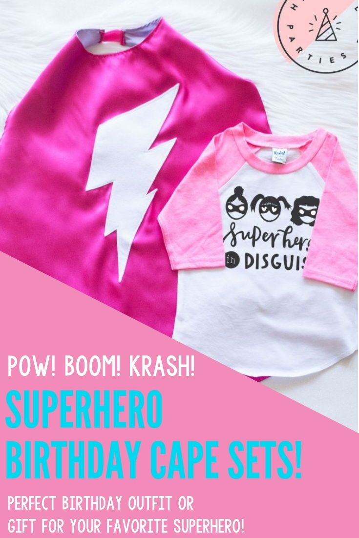 Pink Superhero In Disguise Set 2019
