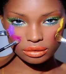 donkere huid make-up