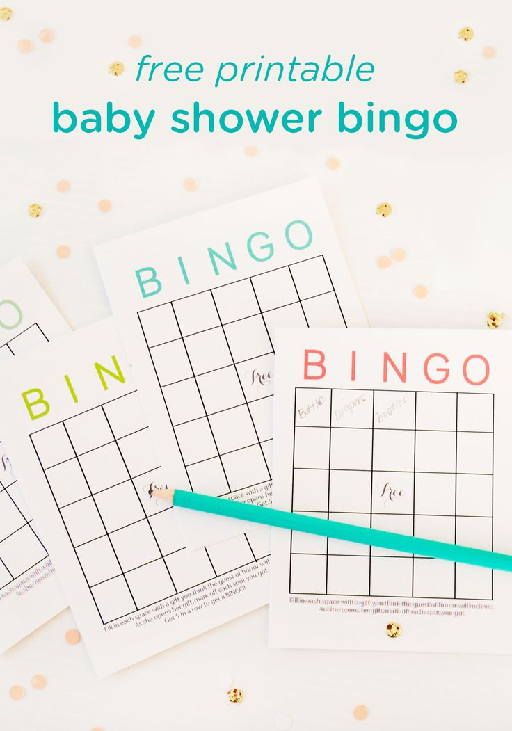 Planning a baby shower and looking for easy game ideas that the mom-to-be and party guests can enjoy? These free printable baby shower bingo cards make planning a cinch! Each guest fills out their card with their best guesses as to what baby shower gifts the mother will receive. As she opens her gifts, simply mark off each correct answer to discover the winner!