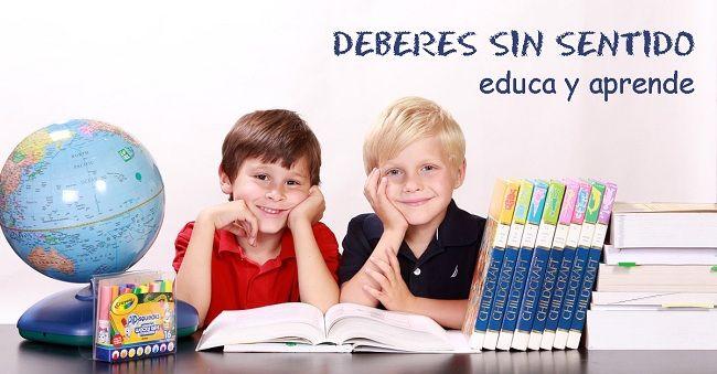 Deberes escolares sin sentido o experiencias de aprendizaje conectadas