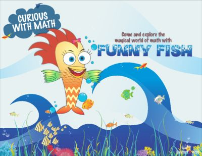 Funny Fish Math Activities from BrightNRite from BrightNRite on TeachersNotebook.com (33 pages)  - Funny Fish consists of  8 hands-on math activities. This module introduces the  concepts of estimation, geometry, sequencing, patterns and sorting to children ages 3-7