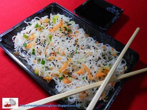 Comida típica dos orientais que é muito simples, rápida e deliciosa!!!    Ingredientes:    1 pacote de Bifum 200g (macarrão de arroz/j...