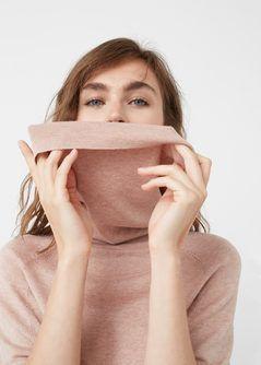 Oversized katoenen trui - Vesten en truien voor Dames | MANGO Nederland