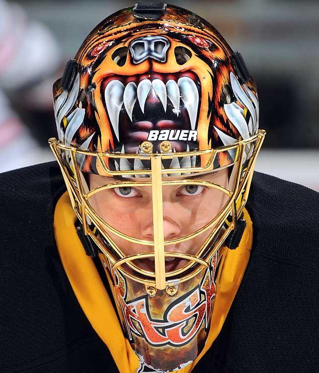 Tuukka Rask Goalie Mask -Boston Bruins