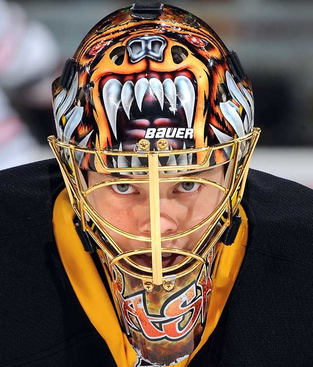 Tuukka Rask Goalie Mask -Boston Bruins