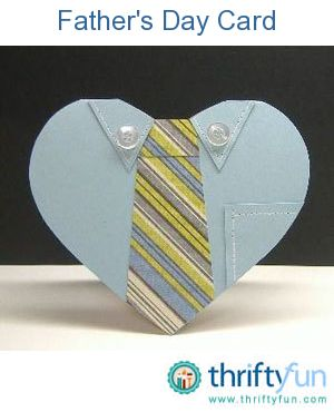 Show Dad how much you appreciate him with a handmade card that is sure to make him smile. This gorgeous heart-shaped card uses cardstock, decorative paper, buttons and a faux stitch technique.