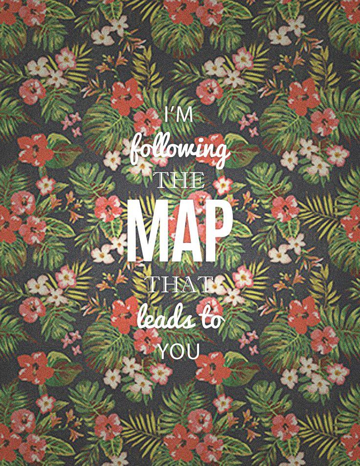 """""""Estou seguindo o mapa que da a você"""" Maps - Marron 5"""