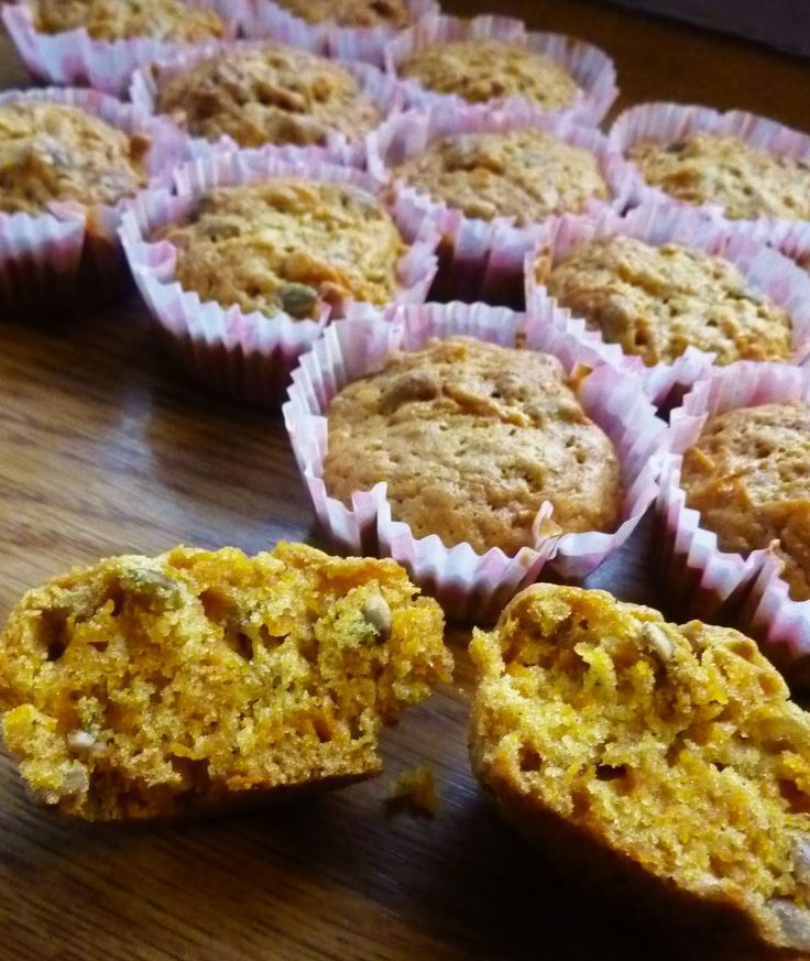 pompoen muffins met een bite