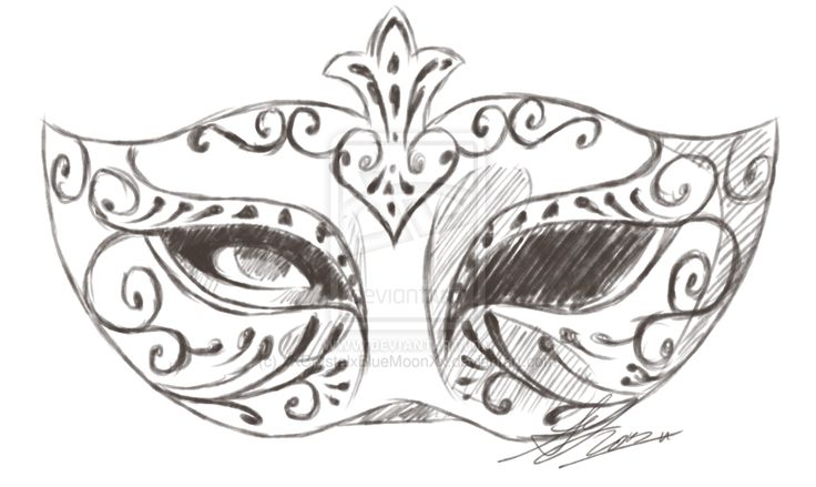 Mask Sketch Tattoo Inspiration Pinterest Drawings Sketches And