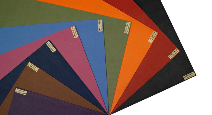 Jade Harmony Mat - these mats are for hot yogi style in 100% rubber. Available in various colours and travel size. (http://www.kamalaom.com/jade-harmony-yoga-mat-5mm-pink/)
