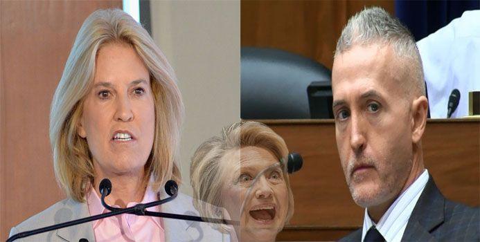 Greta Van Susteren Joins Trey Gowdy In Fight To Bring Down Hillary !
