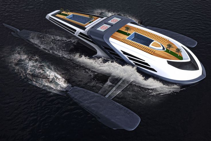 Industrial designer Charles Bombardier is known for his outlandish, imaginative designs. The Seataci Concept Yacht is no different. Dreamed up on a trip to Bora-Bora, it has a main hull that can submerge itself using a ballast system, giving passengers...