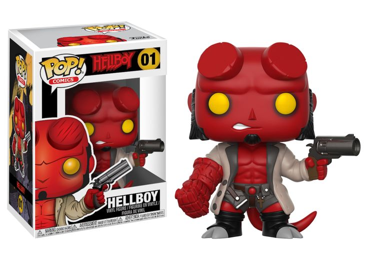 Hellboy Comic Hellboy with Jacket Pop Vinyl Figure #01 [Pre-order]
