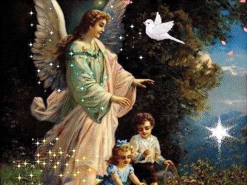 anjo da guarda-crianças