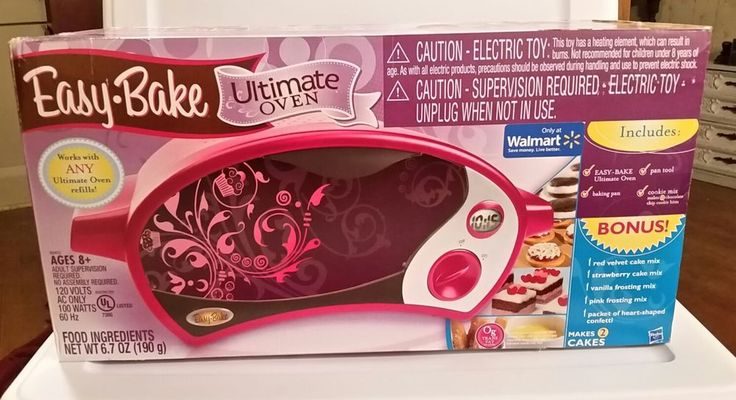 NEW, Hasbro Easy Bake Ultimate Oven, with Bonus Pack Edition , Color Magenta #EasyBake