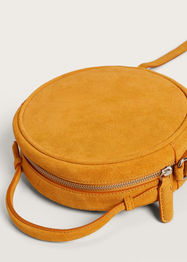 Leather bag - f foCrossbody bags Woman | MANGO United Kingdom