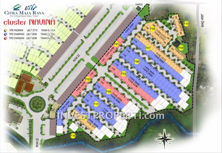 Site Plan Cluster Navina Citra Maja Raya 2