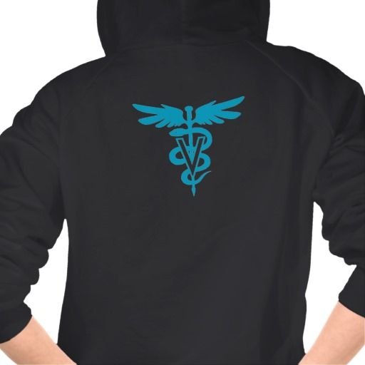 Vet Tech - Veterinary Symbol Hooded Pullover  $46.95 per shirt