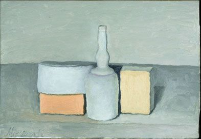 Giorgio Morandi Still Life 1955 oil on canvas