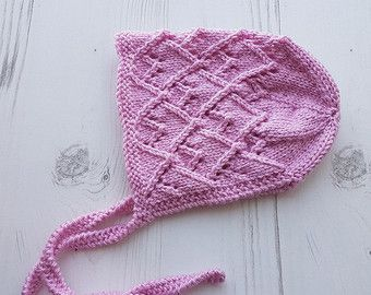 Hand Knit Cotton Baby Set di jayceeoriginals su Etsy