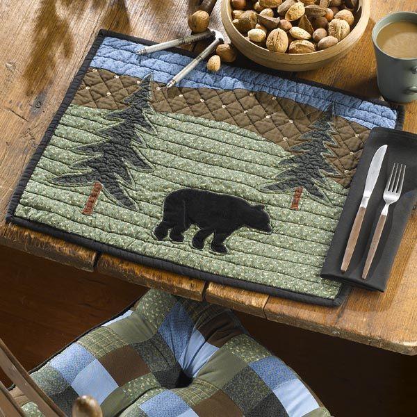 Black Mountain Quilts :: Kitchen/Tabletop :: Donna Sharp Bear Lake