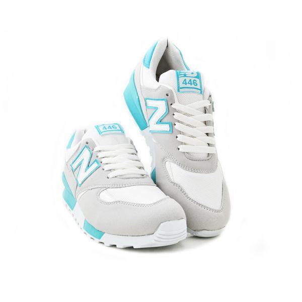 New Balance 446 Beyaz Turkuaz | BAYAN AYAKKABI | Spor | New balance kadın ayakkabıları - En uygun fiyata | Nelazimsa.net