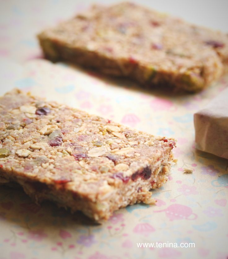 Quickie Raw Muesli Bars - Cooking with Tenina